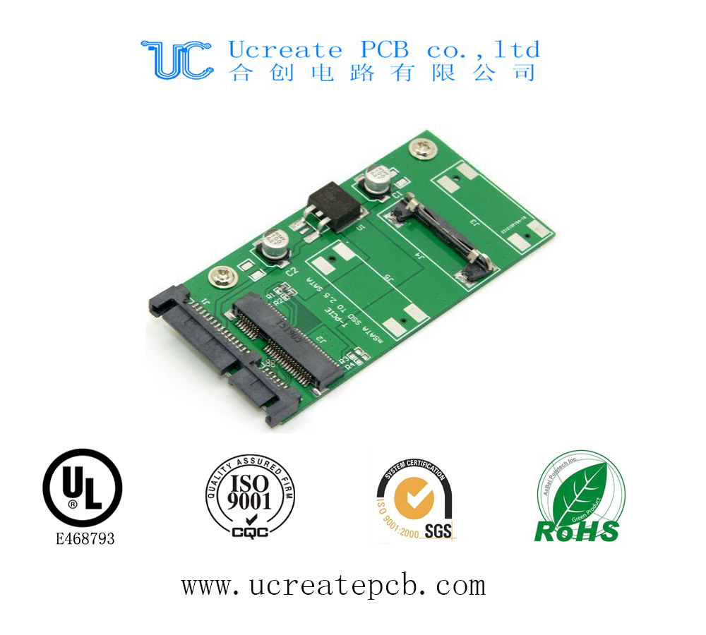 1~16 Layers 0.2~3.2mm Circuit Board PCB with Ce RoHS