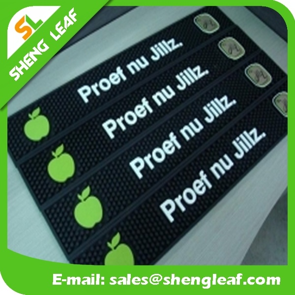Popular Hot Sale Soft PVC Rubber Bar Mat (SLF-BM054)