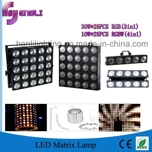 10W RGBW 4in1 Stage LED PAR Light for DJ (HL-022)