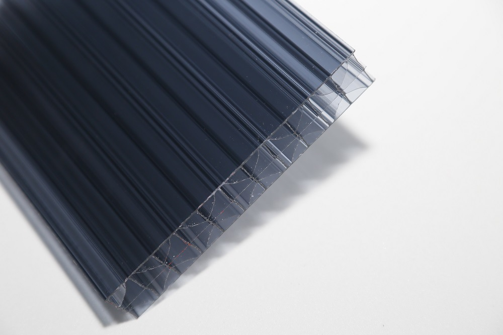 Long Life Span UV Coating Color Hollow Polycarbonate Sheet