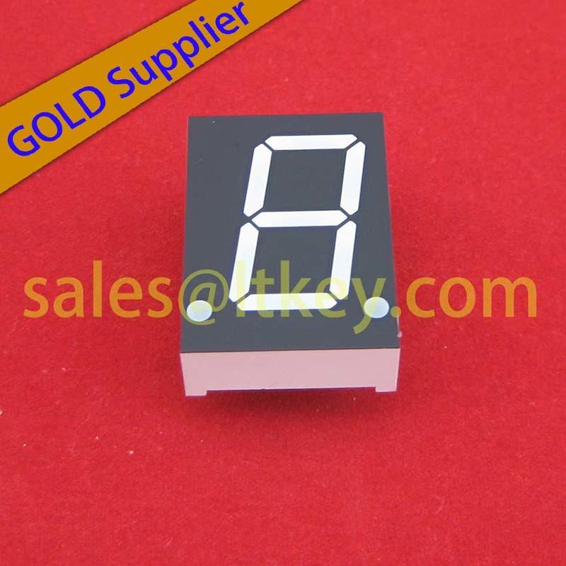 Single Digit Numeric LED Display with 7 Segments