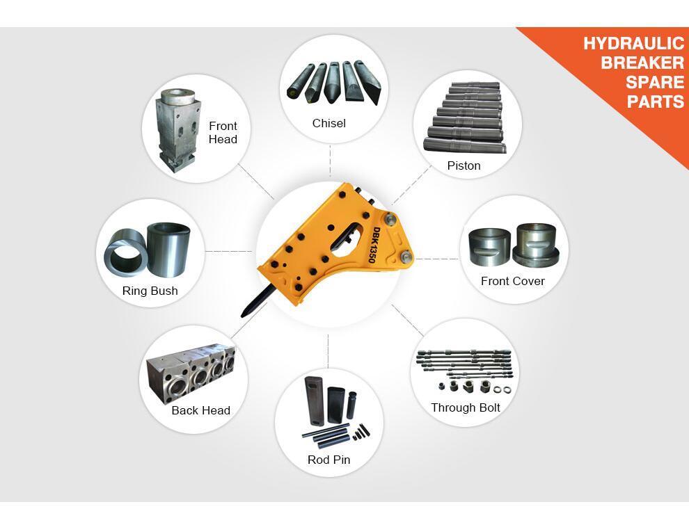 Energy Accumulator of Hydraulic Breaker Spare Parts