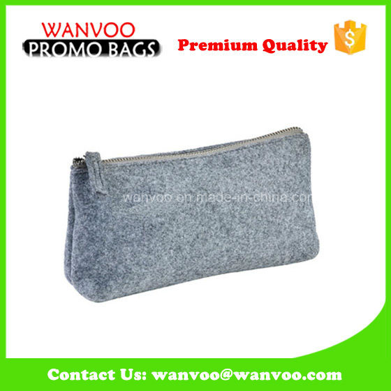 Wholesale Designer Felt Cosmetic Bag Custom Pouch
