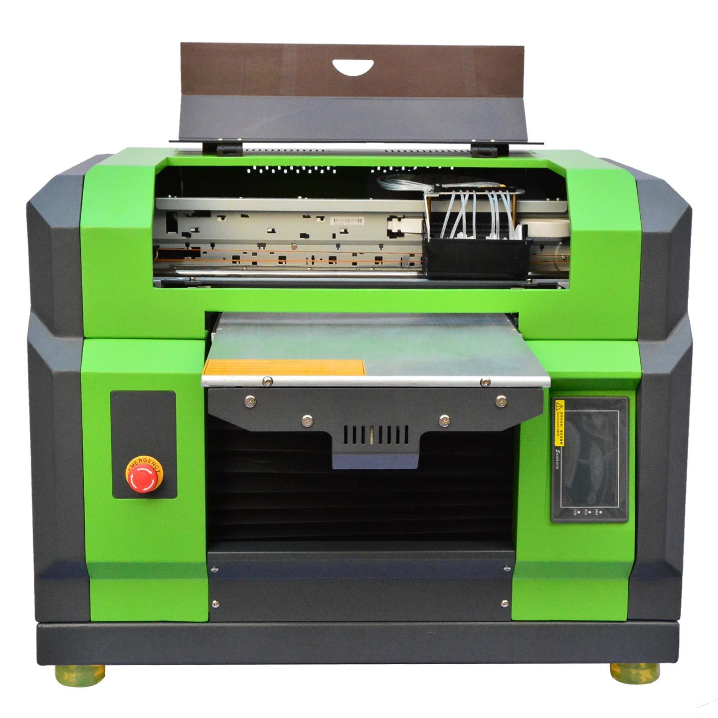 High Quality Multi-Function A3 UV Flatbed Printer for T-Shirt, CD, Card, Pen, Golf Ball, Phone Case, USB, Glass, Plastics, Acrylic, PVC, Leather, Marble, etc.