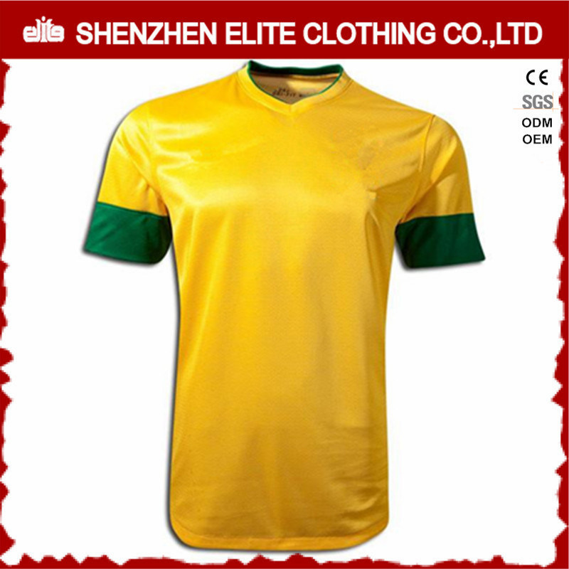 Custom Sublimation Barcelona Soccer Jersey Football Shirt (ELTYSJ-58)