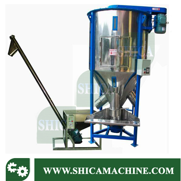 Big Plastic Granules Vertical Type Color Mixer with Dryer