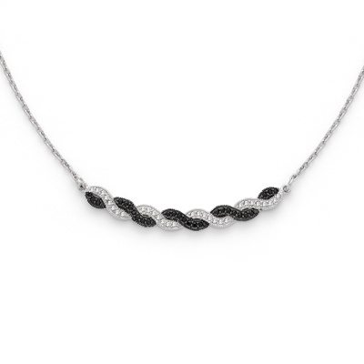 Factory Price Wholesale Fashion Jewelry Black Plated Necklace Gift