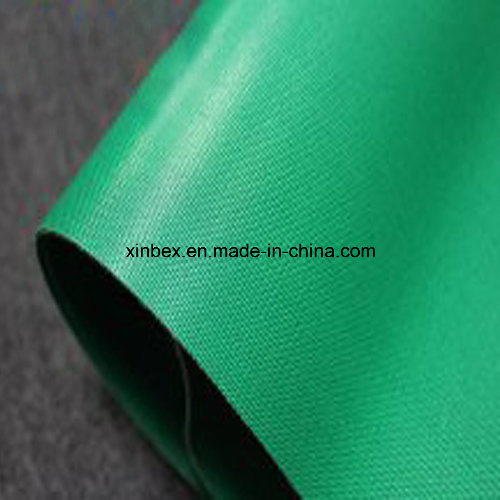 Fabric/Fiber/Cotton Polyester Green PVC/PU Double Industrial Conveyor Belt