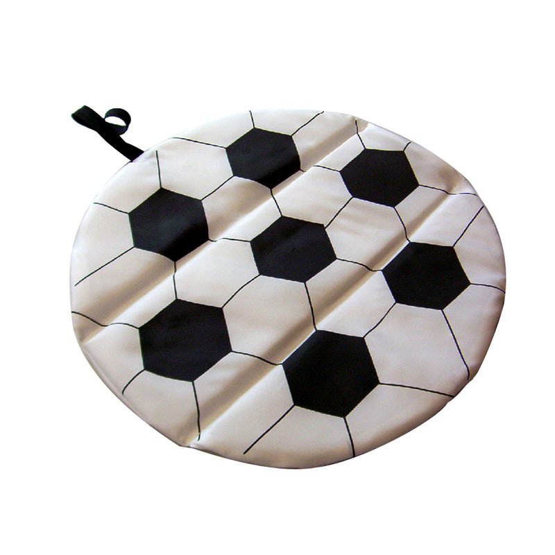 Soccer Shape Foldable Seat Cushion