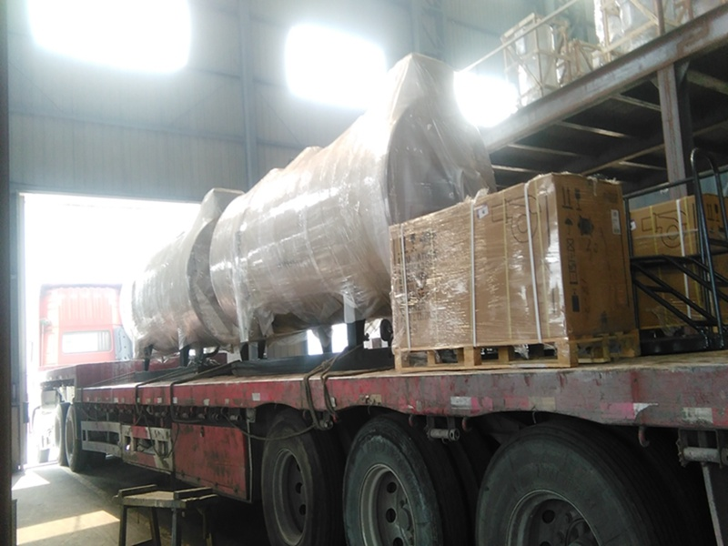 Industrial Gas or Oil Fired Hot Water Boiler