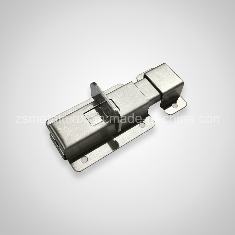 Stainless Steel Security Automatic Spring Sliding Door Guard Bolt (CX010)