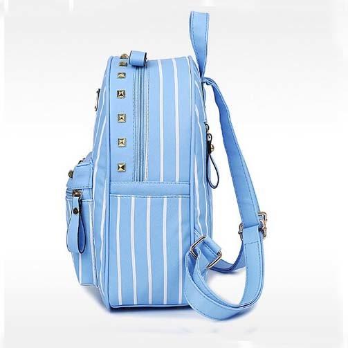 Women Combos 3PCS Leather Student School Designer Packback Bag (XM0281)