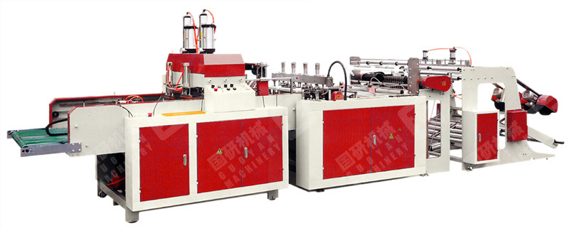 Full Automatic High Speed Plastic Bag Making Machine Uinit (GY-ZD-E2)
