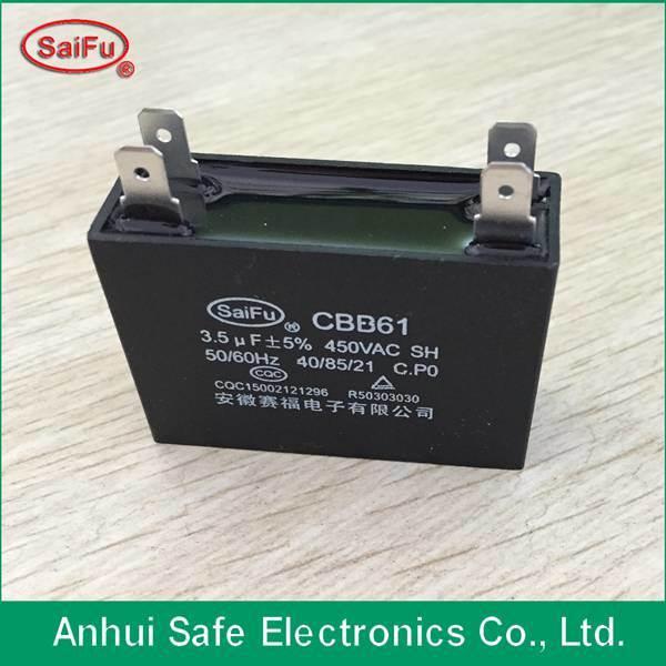 Polypropylene Film Cbb61 5UF Capacitor