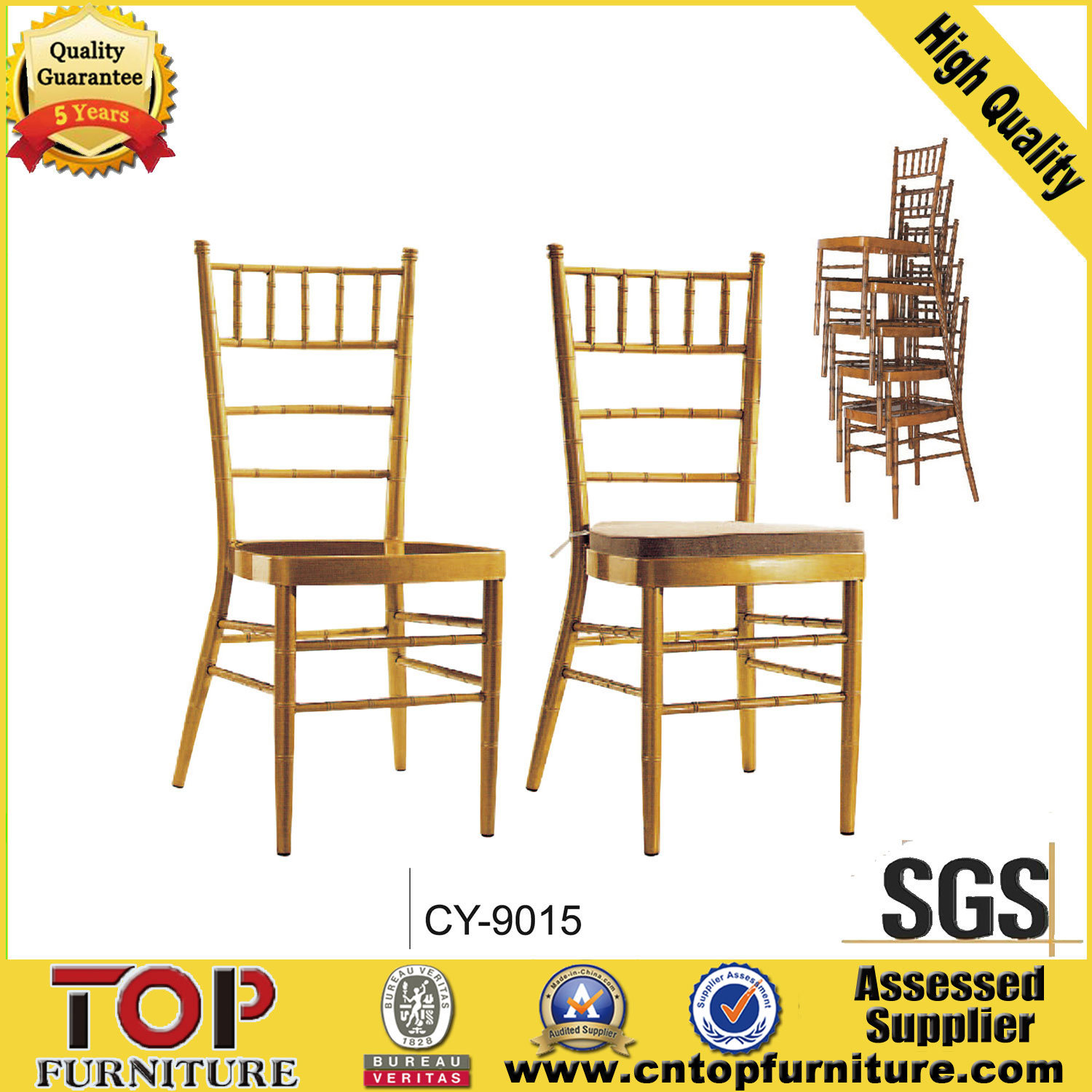 Wholesale Tiffany Chair for Hotle Wedding Event Party
