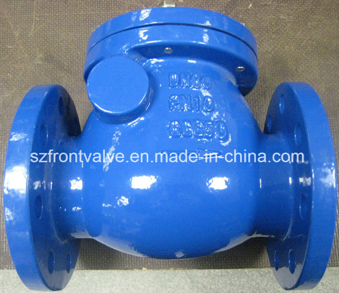 Cast Iron DIN Flanged Swing Check Valve