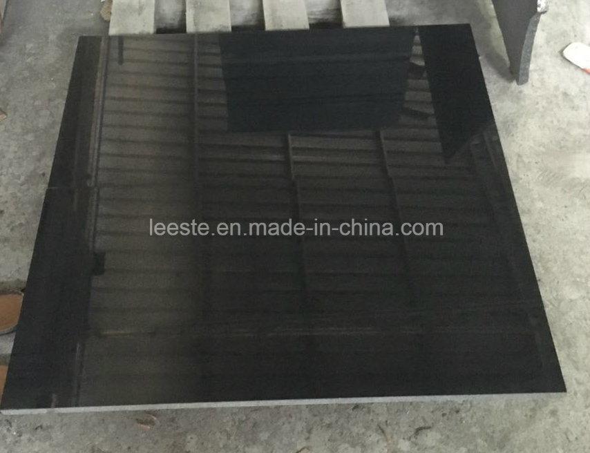 G684 Black Paving Stone Granite Wall Tile, Granite Tile