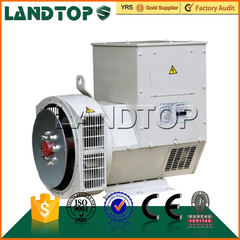 LANDTOP three phase single bearing electric generator price list