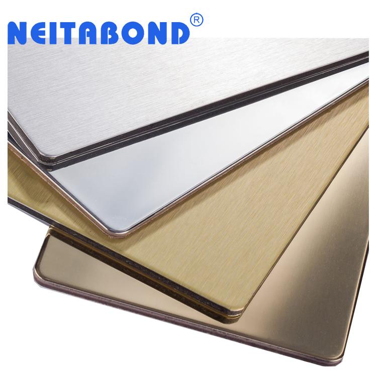 Neitabond Exterior 3mm 4mm PVDF Aluminium Composite Wall Cladding Panel (ACM) with SGS