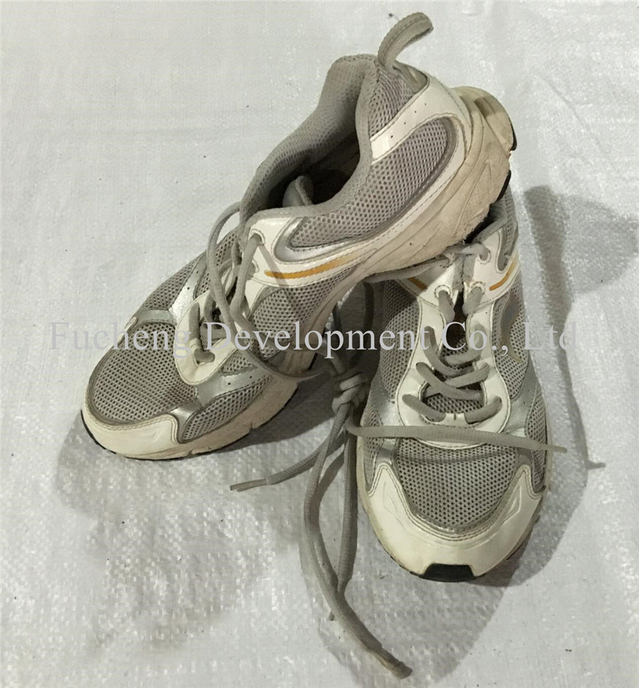 Good Quality Good Price Hot Sale in Africa Used Leather Shoes (FCD-002)