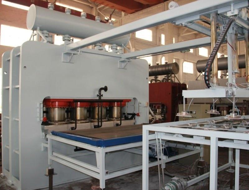 Short Cycle Laminating Hot Press Machine