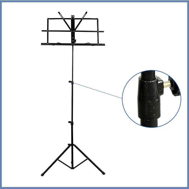Tripod Base Black and Colorful Sheet Music Stand