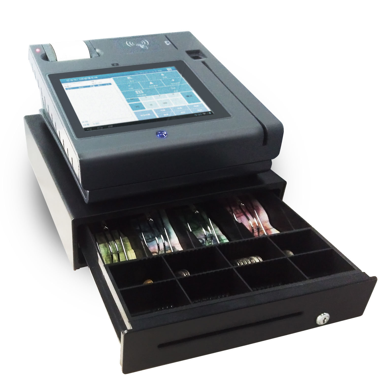 Restaurant POS with Printer and Cash Register