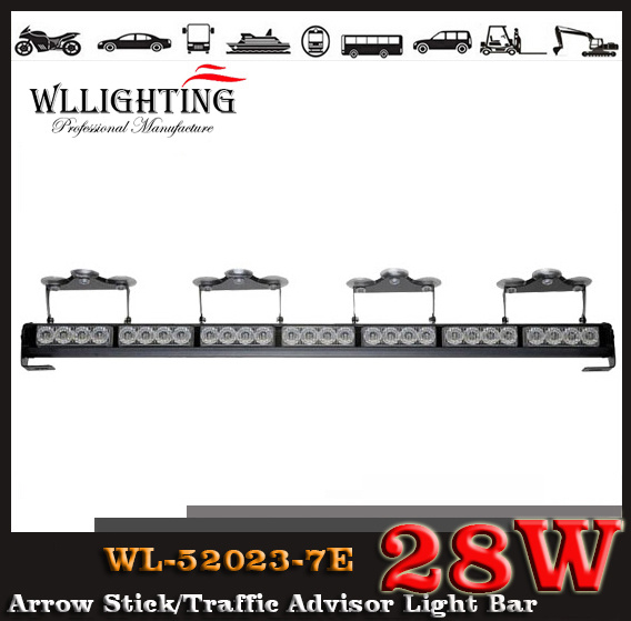 LED Flash Directional Lightbar/ LED Traffic Advisor Light