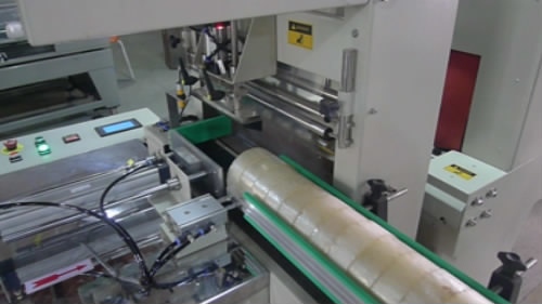 Automatic BOPP Tape Shrink Wrapping Packing Machine
