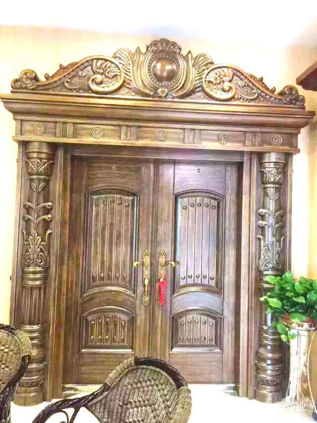 Special Africa Copper Aluminium Door