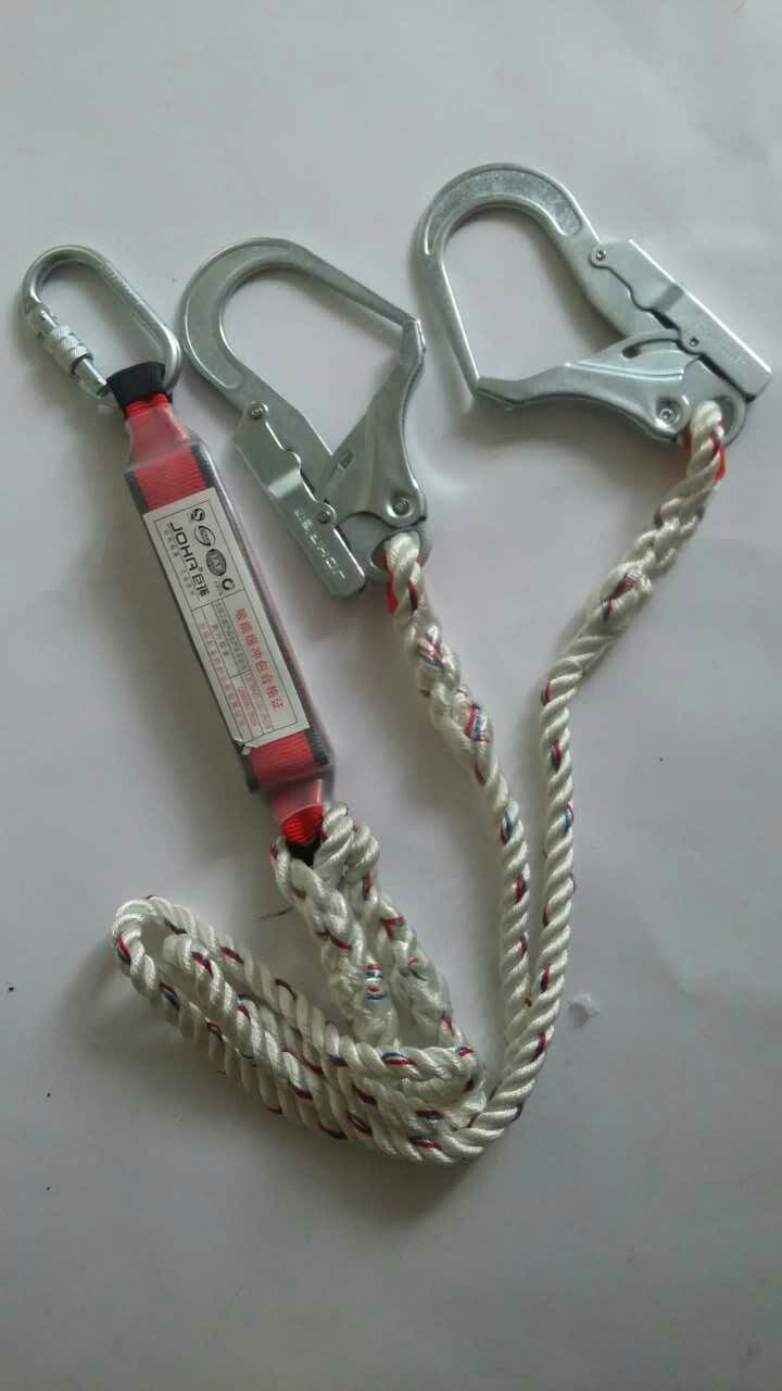 Full Body Safety Harness with Buffer Package, OEM Orders Welcomed
