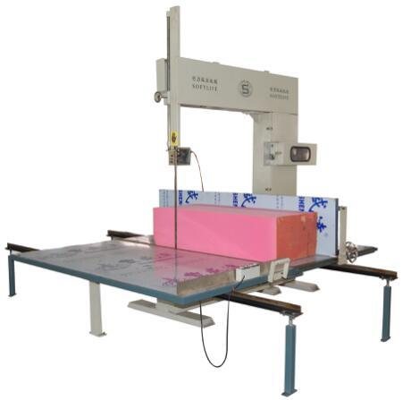 Foam Vertical Cutting Machine Semi-Auto
