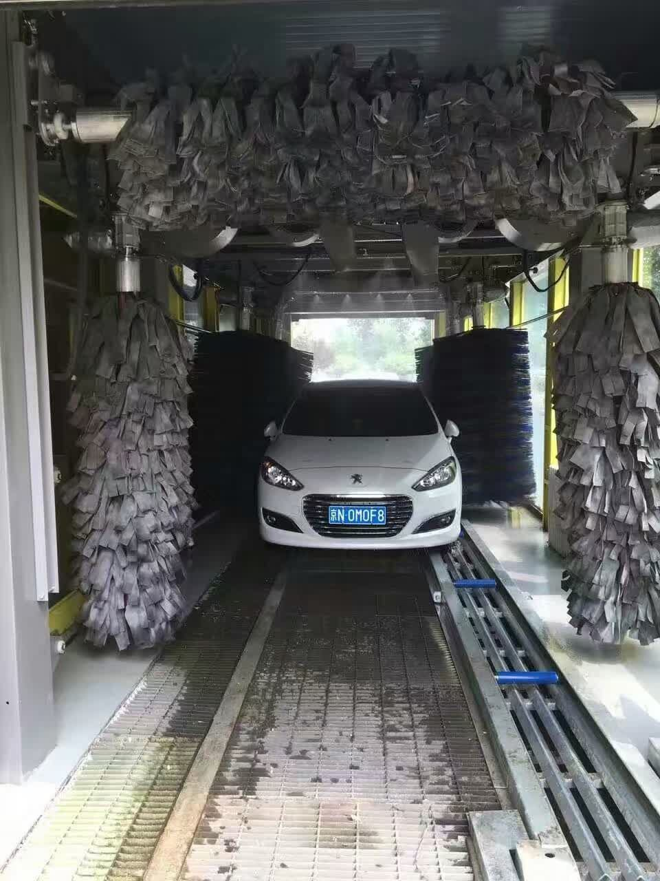 Automatic Car Wash Equipment for Chile Carwash Business