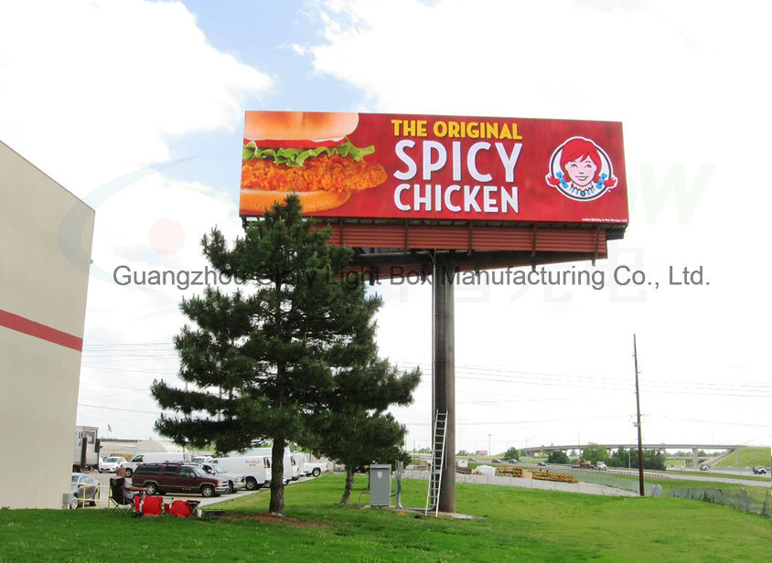 P16mm Advertising Ventilation Full Color Outdoor Digital LED Screen