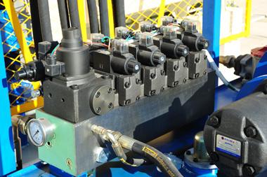 Qt10-15 Cement Concrete Hollow Block Making Machine, Brick Production Line
