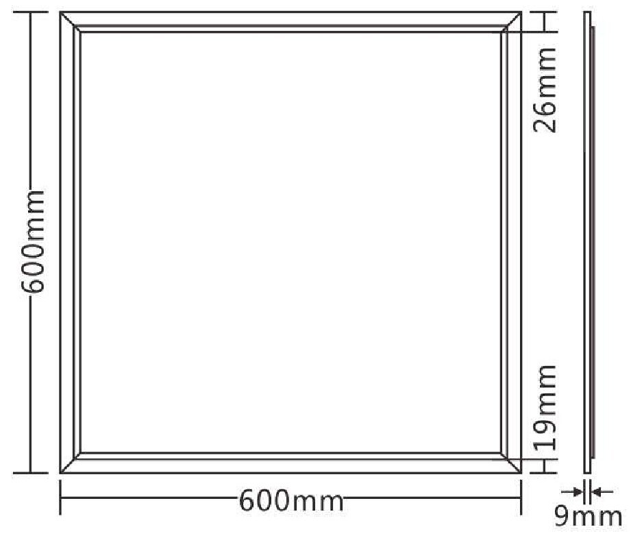 LED Panel Lamp 60*60cm