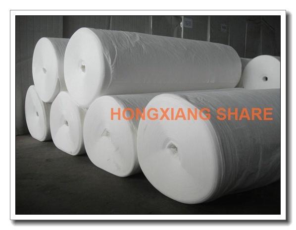 Polyester Woven Geotextile White Long Fiber Filament
