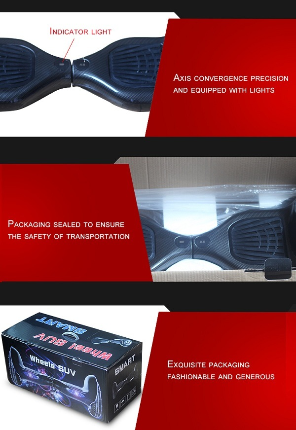 Germany Drop Shipping Smart Balance Scooter Hot Sale Hoverboard UL 60950-1charger/UL 1642 Battery Un38.3 Battery CE FCC RoHS Certificates