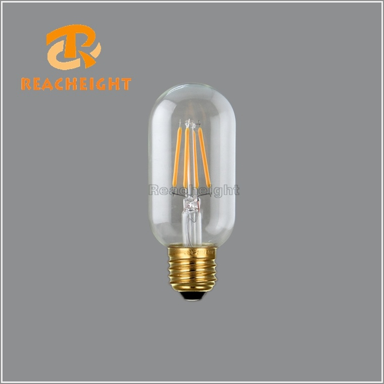 LED T45X4t Dimmable LED Filament Bulb