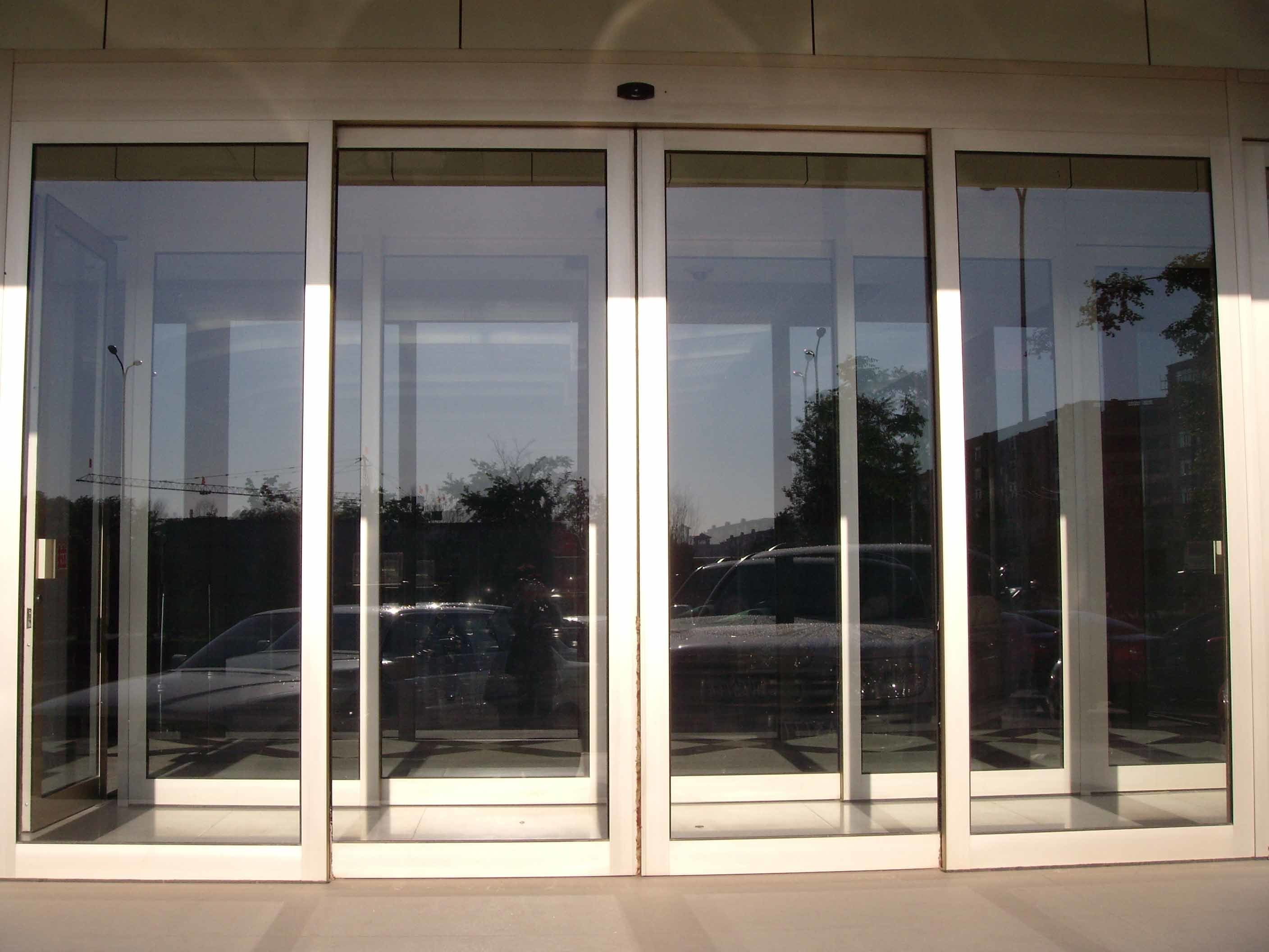 China Mbsafe Classic Type Of Automatic Glass Sliding Door