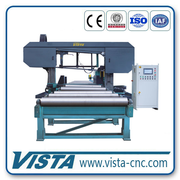 CNC High-Speed Band Sawing Machine for Beams