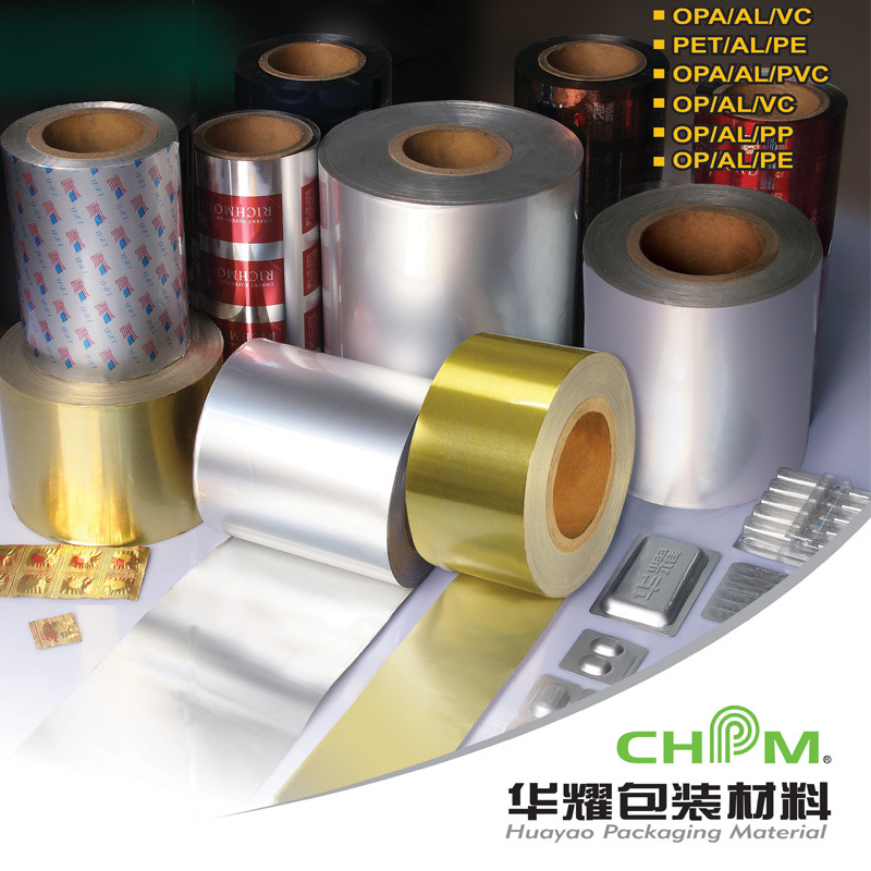 Pharmaceutical Packing Material Paper Aluminum Foil Laminated PE