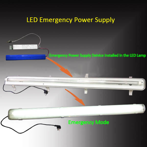Automatic Emergency Conversion Kit for 1-10W LED Light Power Supply
