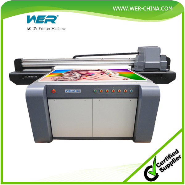Ce and SGS Approved Large Door UV Flatbed Printer