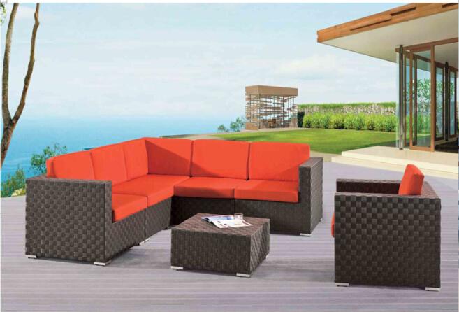 Leisure Outdoor Furniture Rattan Sofa