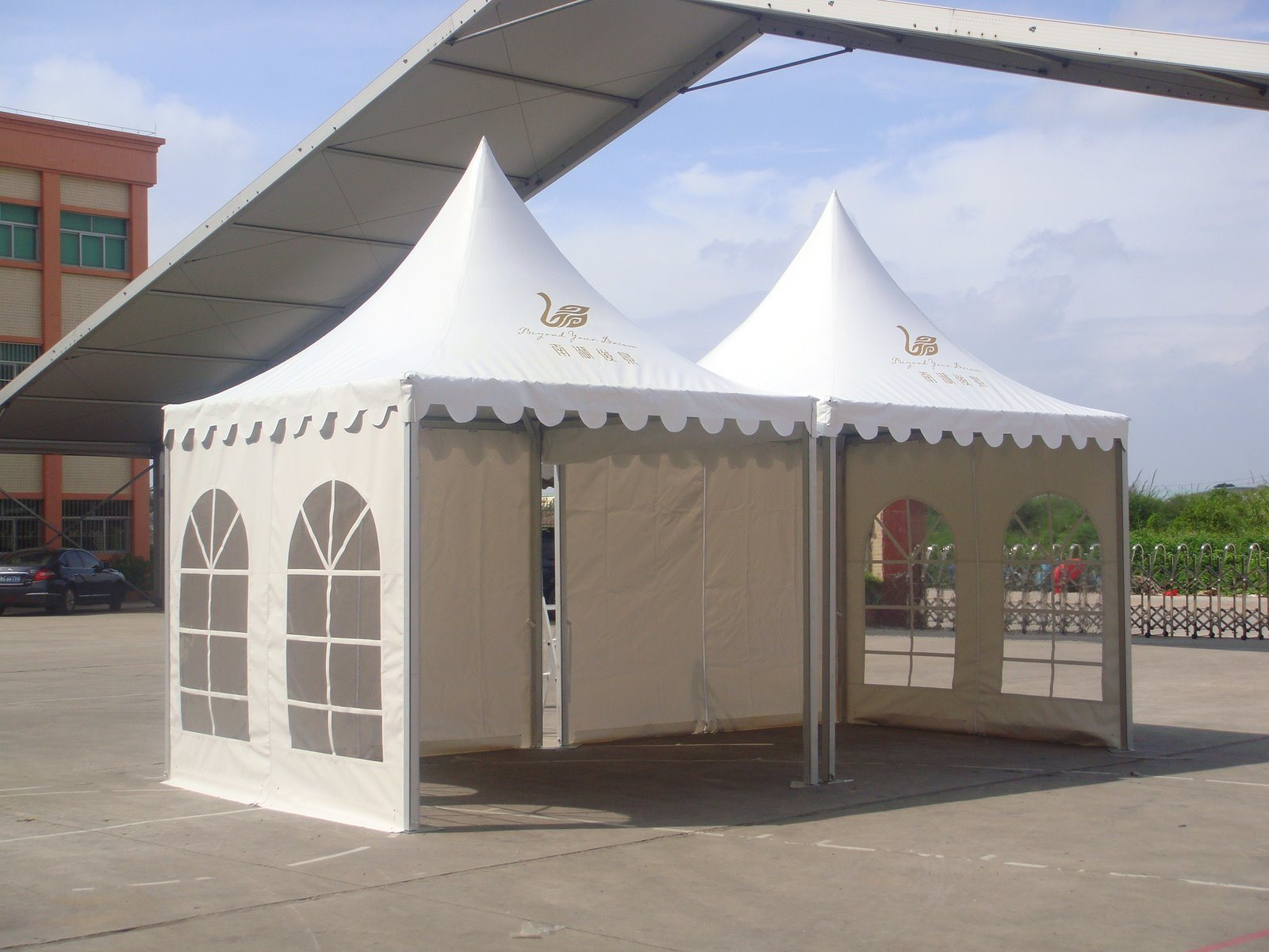High Quality Alum 4*4 Pagoda Tent