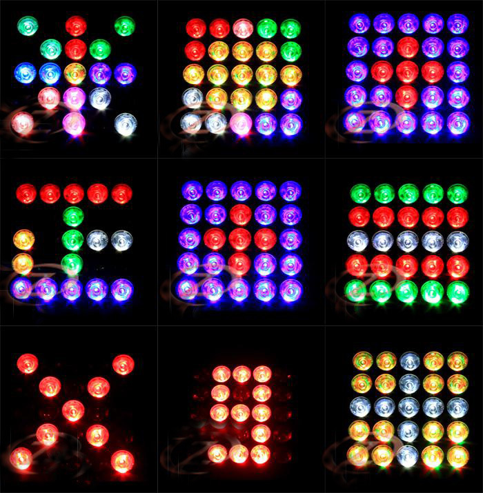 4in1 LED Moving Head Matrix Light of Stage Lighting (HL-002BM)
