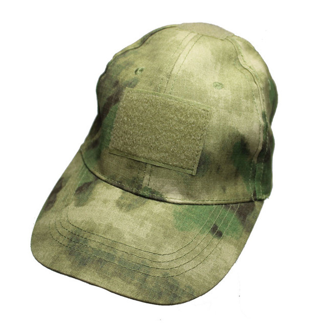 Anbison-Sports Tactical Army Military Hiking Baseball Cap with Verclo Panels