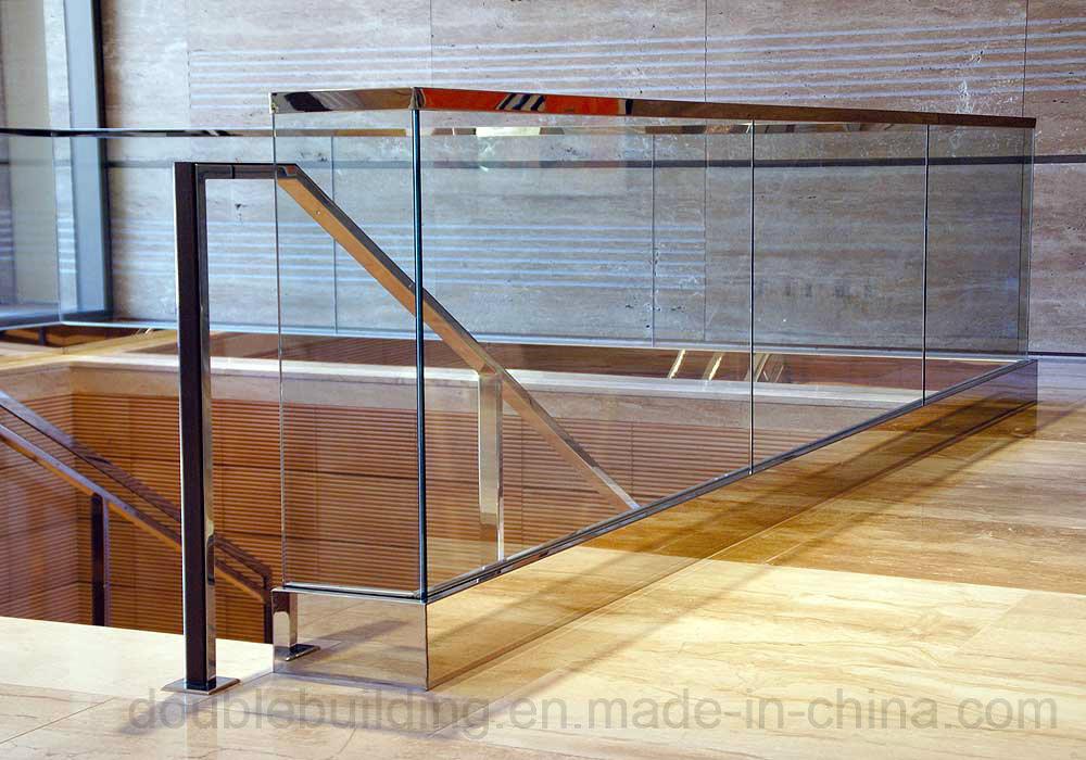 Stainless Steel Glass Clamp Frameless Glass Balustrade Balcony Railing