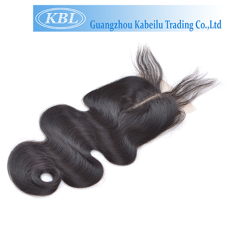 No Synthetic Hair Brazilian Lace Top Closure 2.5*4